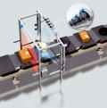 Flexible and variable reading of bar codes with matrix camera