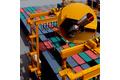 Collision avoidance on a rubber tired gantry crane