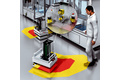 Monitoring of direction of travel and speed for automated guided carts