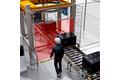 Safe material lock for standard palletizing tasks