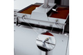 Point level measurement on chocolate filling hoppers