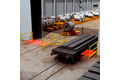Safeguarding entry and exit of automated sheet metal transport during logistics