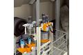 Monitoring conveyor belt operation during material handling