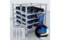 Automated material reordering at e-Kanban racks