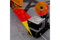 Collision avoidance in the path of a quay crane with 2D-LiDAR sensors