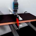 Regulación del borde de la banda con fibra óptica Array