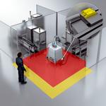 Safe robot platform for the final inspection of navigation systems
