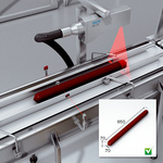 Optimization of the cutting process using 3D vision
