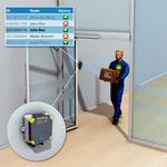 Door leaf detection on automatic sliding doors