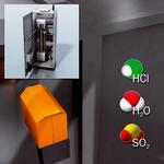 Övervakning vid utgången på rökgasavsvavlingssystemet (REA)