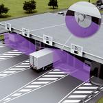 Датчики 2D-LiDAR на пунктах сбора дорожной пошлины