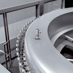 Level measurement in buffer tanks of bottling systems