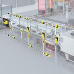 Positionsövervakning av foliebuffert för foliespänning