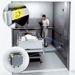 Распознавание больничных коек в лифтах больниц