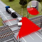 鐵路道口的危險區域警報解除信號