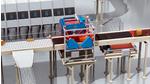 Dynamic volume measurement at cross-belt sorter