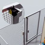 Access protection with electro-mechanical safety switch