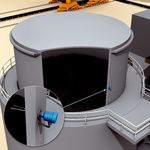 Overfill protection for coal bunkers and silos