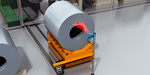 Identifying the sheet metal coil