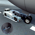 Detection tasks in aircraft tractors