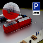 Monitoring swap trailers as an anti-theft measure