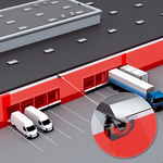 Protecting the facades of logistics centers