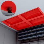Kattojen vaakasuuntainen valvonta