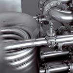CIP設備の熱交換器での温度測定