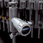Flow measurement of the medium