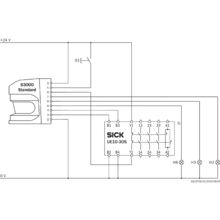 s30a-4011ba | opto-electronic protective devices | sick sick dt50 laser wiring diagrams #11