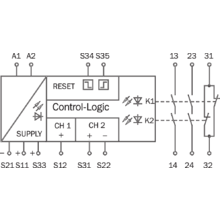 ue48 2os2d2 sens control safe control solutions sick rh sick com Circuit Schematics Wiring Schematics for Cars