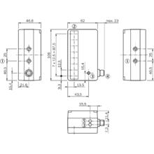 Lichtgitter WLG12-V538-1013780     NEU SICK Reflexions