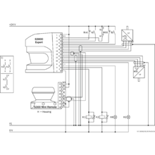 s32b 2011ea opto electronic protective devices sick electrical wiring diagrams connection diagram protective field switching between an s3000 expert and an s300 mini remote with static and dynamic inputs