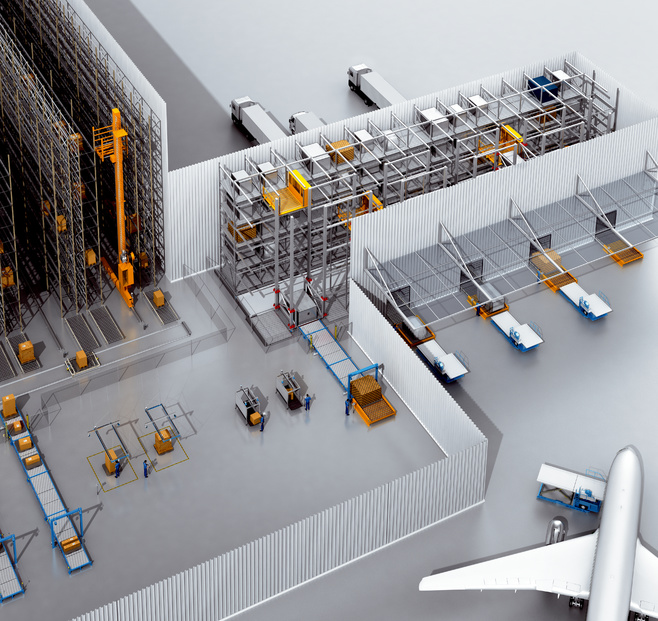 Air cargo facilities