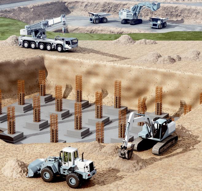 Maskiner i byggeri og minedrift