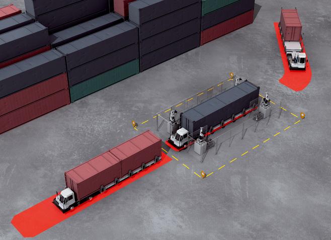 Terminal trucks
