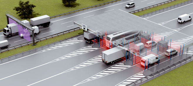 Monitoring electronic toll collection