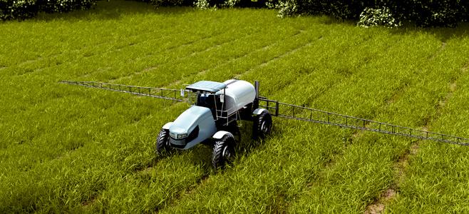 Crop protection sprayer