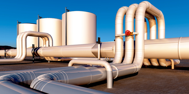 Natural gas transportation and storage