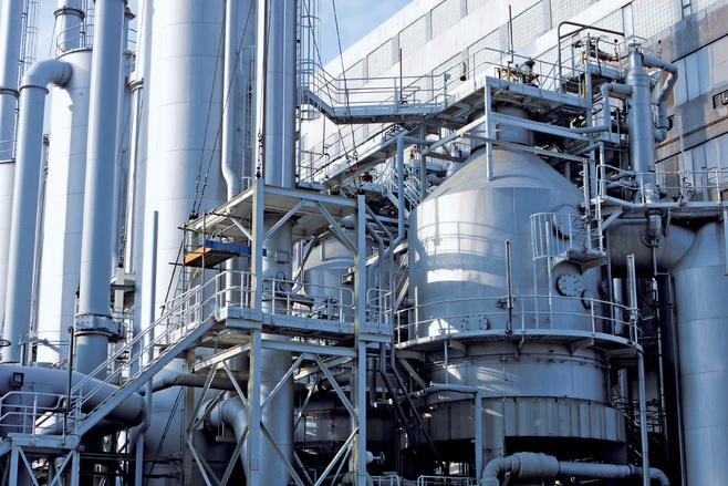 Substanties voor de chemie, petrochemie en raffinaderijen