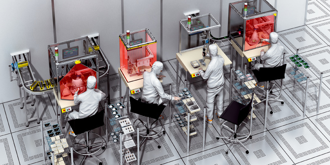 Electronic Device Production