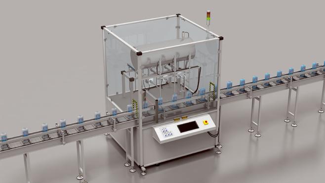 Machine de remplissage à piston