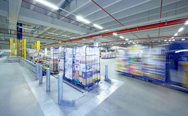 Retail and warehousing