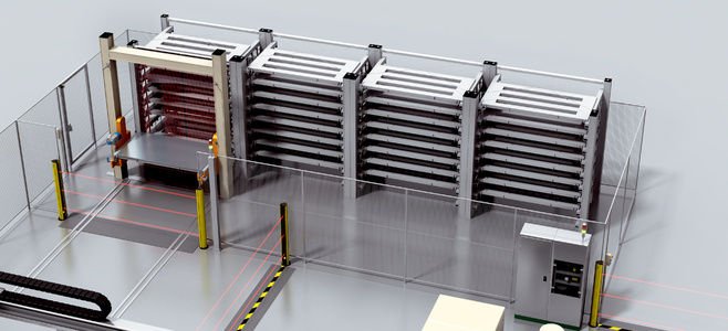 Automated sheet storage system