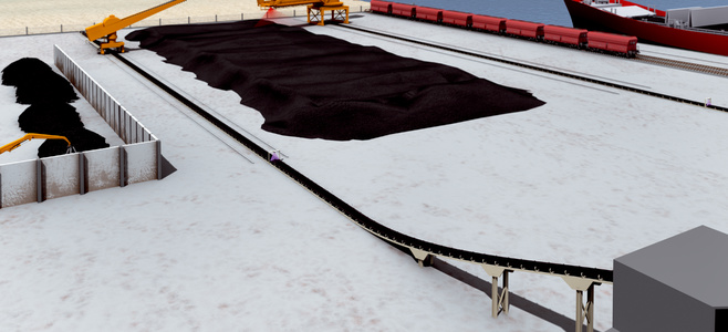 Conveyor belts in the cement industry