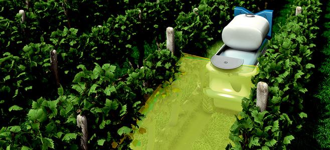 Robots dans l'agriculture