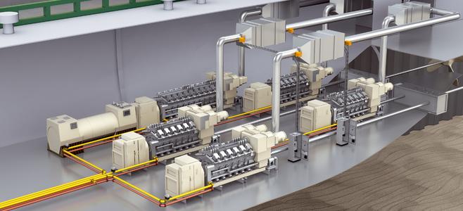 Engine room monitoring