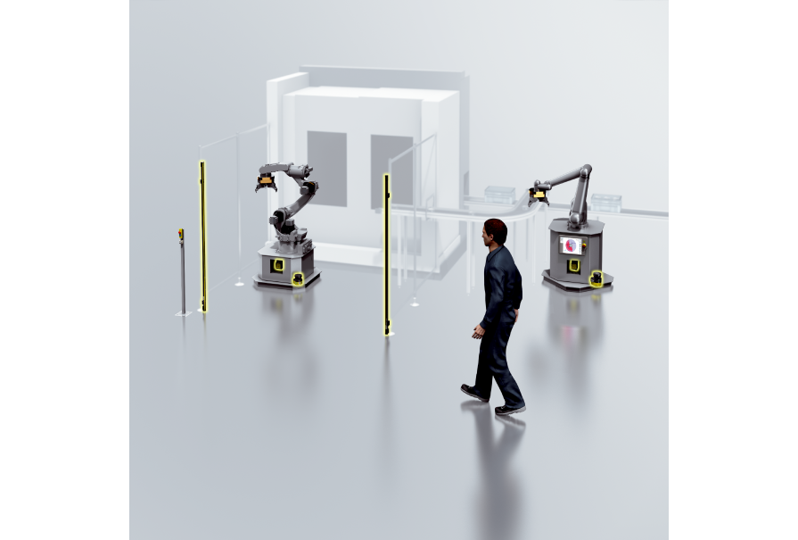 Safety systems   Safe Robotics Area Protection SICK