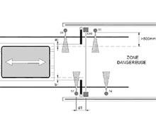 4 capteurs parallèles avec commande temporelle