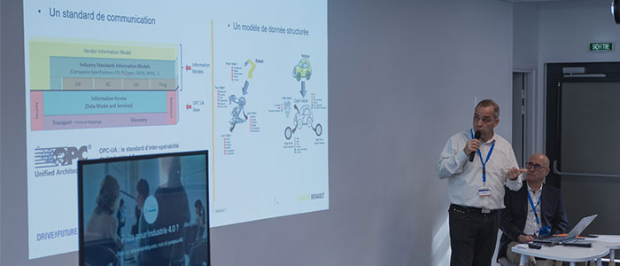Thierry Daneau, Expert Automatisme et Robotique, Renault